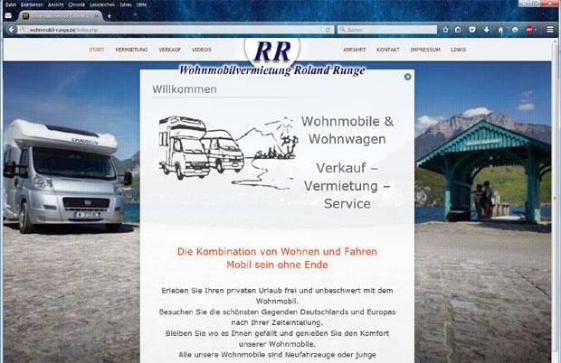 Wohnmobile Runge